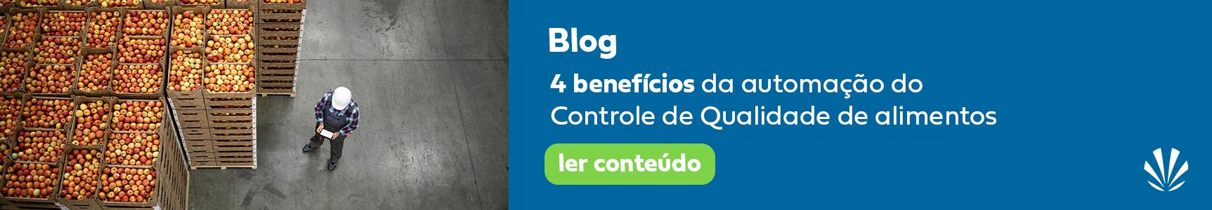 4 beneficios da automação do controle de qualidade de alimento - horizontal