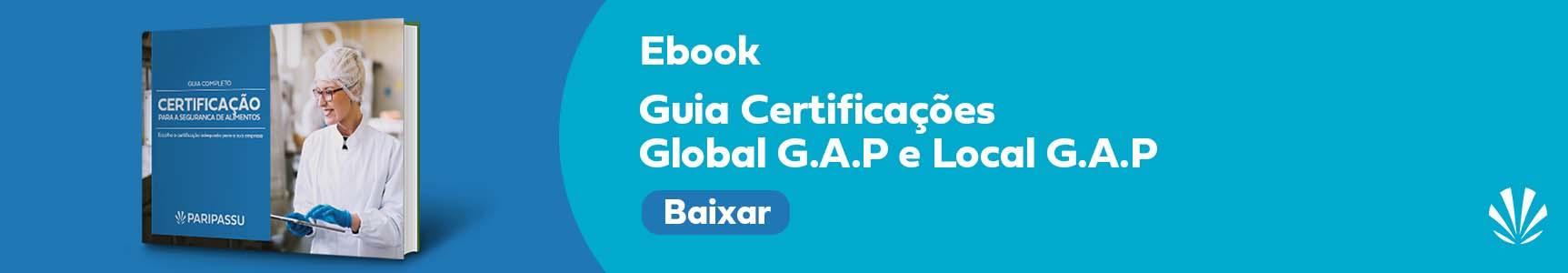 Guia Certificações Global G.A.P e Local G.A.P