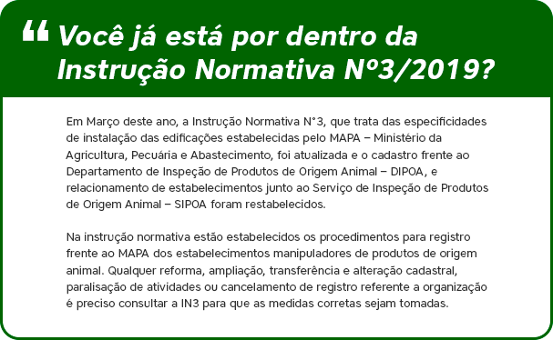 Instrução Normativa Nº3/2019