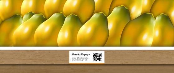 Qr code mamão papaia