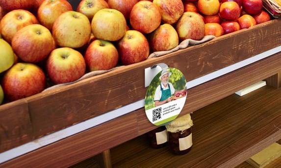Qr code maçã