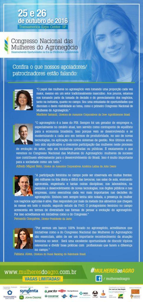 Congresso Nacional das mulheres do Agronegócio