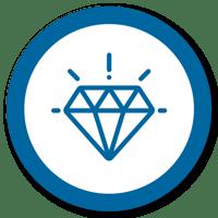 Desenho Valores (diamante)