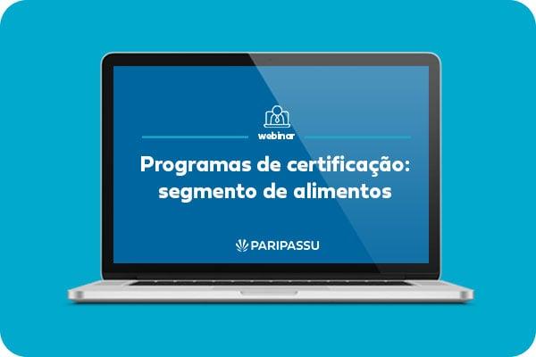 Programas de certificação