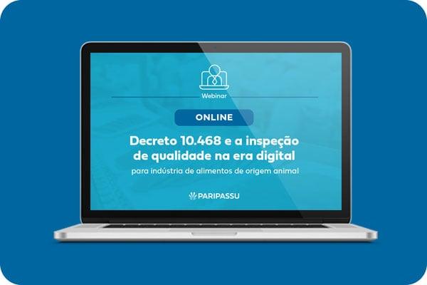 Webinar decreto 10.468
