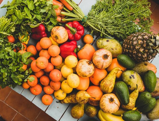 Frutas veriadas