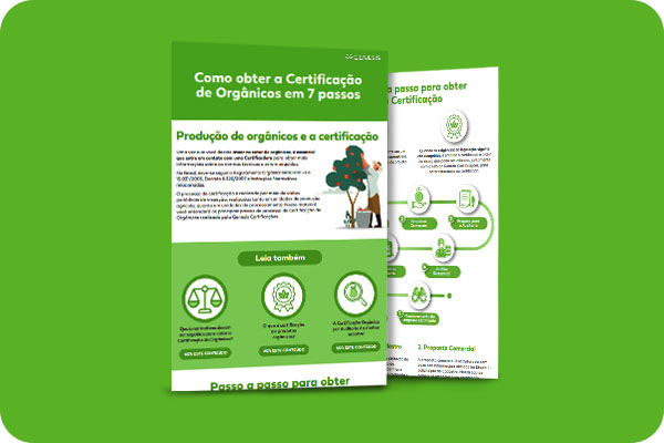 Como obter a certificação de orgãnicos em 7 passos