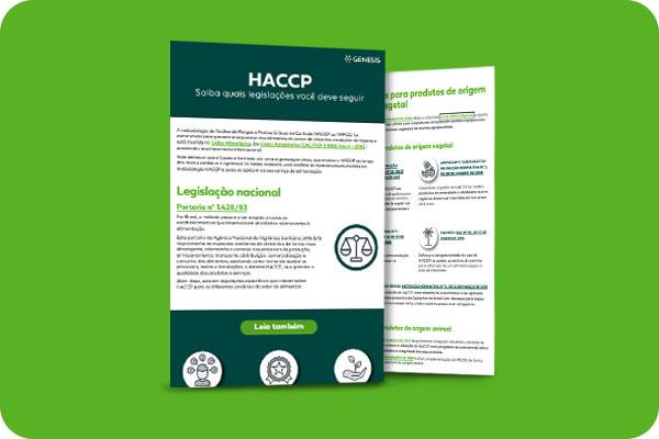 HACCP - Quais legislações seguir