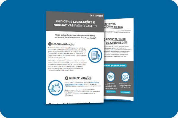Infográfico - Principais legislações e normativas para o varejo