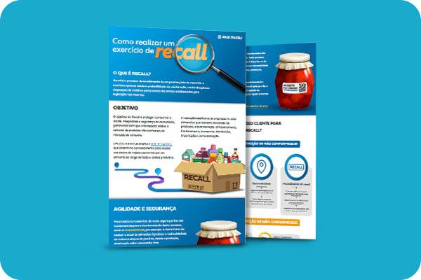 Infográfico Como realizar um exercício de recall