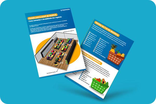 Infográfico - Modelo de layout de hortifrúti: Como aumentar a durabilidade dos vegetais